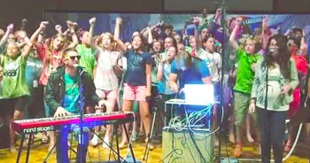 Alive - Hillsong Young  Free Cover - by Tommee Profitt Band feat. Impact Lansing Camp 2014
