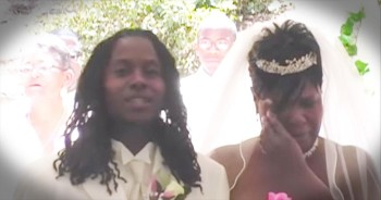When This Son Serenades His Mom Down The Aisle, You Won't Be Able To Stop The FLOOD Of Tears