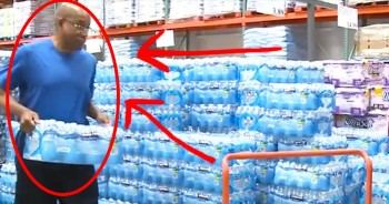 These 33 Cases Of Water Are More Than Just Refreshments For One Pastor