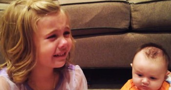This Big Sister Just Expressed The Feelings Of Every New Parent PERFECTLY. Too Precious!