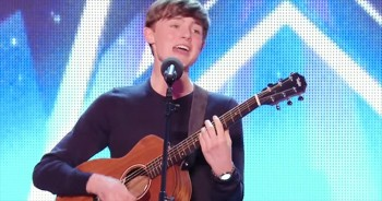 This 15-Year-Old Is An Old Soul - His Song Will Certainly Leave You 'Feeling Good'