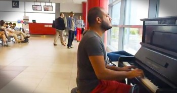 When This Guy Started Playing, The Entire Airport Was CAPTIVATED – WOW!