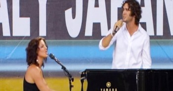 Josh Groban And Sarah McLachlan AMAZE With This Beautiful Song. I Have Goosebumps!