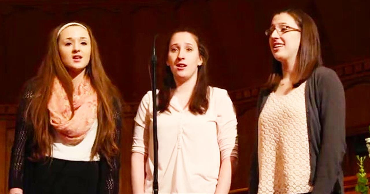 Three Sisters Worship God with Swing Low/Steal Away Mashup