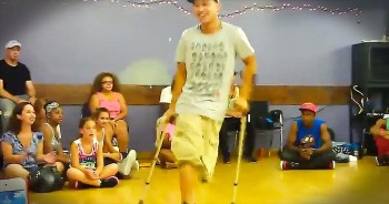 He May Have Lost A Limb – But This Man Still Has Plenty To DANCE About!