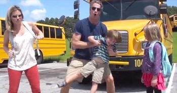 It's Back To School And These Parents Are SUPER Excited. And I'm Crying I'm Laughing So Hard!