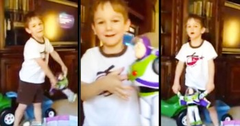 This Adorable 3-Year-Old Sings '10,000 Reasons' For His Deployed Brother – How Precious!