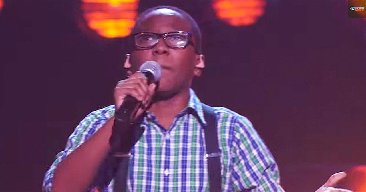 He Raised His Voice In Church And Now He's WOWing The Judges On Stage - I Have Some Serious Chills!