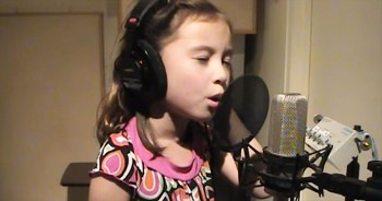 Utterly Adorable 7-Year-Old Sings 'Jesus Loves Me' - And It's The Most Precious Thing EVER!