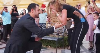She Planned Her Own Flashmob Proposal And Had NO Clue. It Doesn't Get Better Than This!