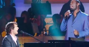Josh Groban And Brian McKnight AMAZE With 'Bridge Over Troubled Water' – MAJOR Goosebumps!