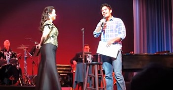This Broadway Star Pulled A Fan On Stage. But No One Saw THIS Coming -- Whoa