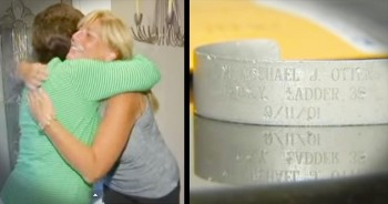 When This 9/11 Memorial Bracelet Washed Onto The Beach, 2 Families Created An Unbreakable Bond