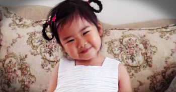 This Sweetie May Only Be 3 Years Old, But She Already Has A Voice For Jesus! Awww!