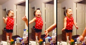 This Little Cutie Is 1 Adorable Lip-Syncer! She's Definitely Letting It All GO!