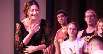 When This Woman Was Pulled On Stage, She Never Saw This A Cappella Surprise Coming!