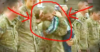 Little Cooper Couldn't Wait Any Longer To See His Military Mom – This Is TEAR-Inducing!