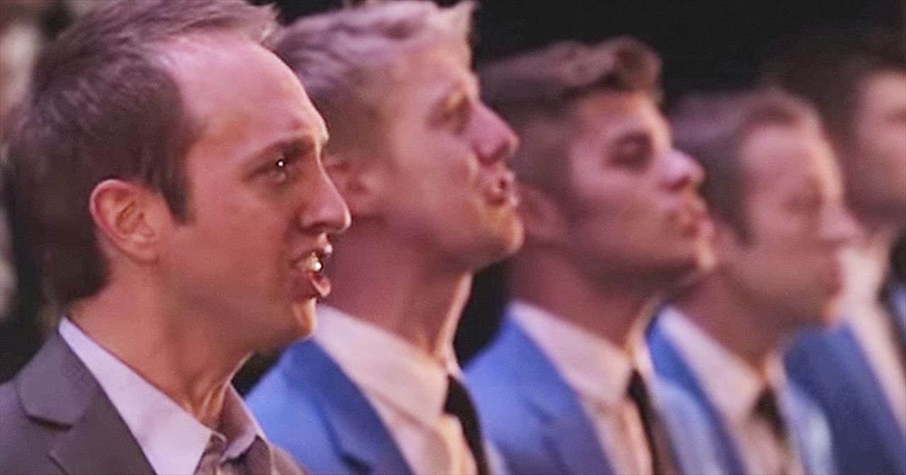 This A Cappella Group Just Performed 'Nearer, My God, To Thee' - And