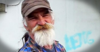 This Homeless Man's DANCING Mustache Just Paid Off BIG Time! My Heart Is SO Happy!