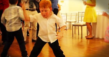 This Cutie Has Some Serious Dance Moves! But How He Can Dance At All Is A MIRACLE!