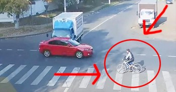 It's A MIRACLE This Cyclist Is Alive. But It's What He Did NEXT That Really Stunned Me!