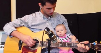 This Daddy Has The SWEETEST Song For His Baby Girl. And I'm In AWW!