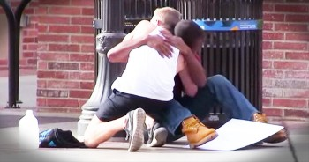 When You See How TOTAL Strangers React To This Man's Depression, You'll Be In Tears!