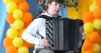 I Never Knew The Accordion Could ROCK. And I'm Completely Loving It!