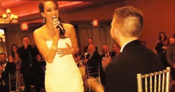 When This Bride Started Singing, I BURST Into Tears. This Is 1 Unforgettable Moment!