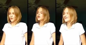 This 12-Year-Old Just Gave 1 AMAZING Performance Of 'His Name.' THAT'S A Voice!
