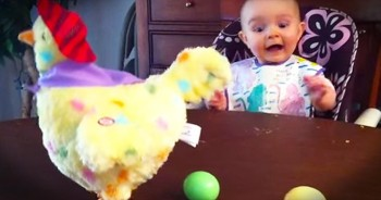 This Cutie Has A New Toy. And Her ADORABLE Reaction Is Seriously Contagious! AWW!