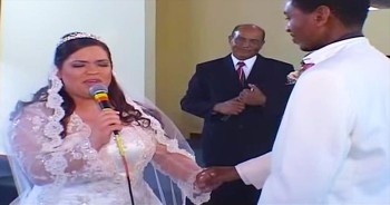 When This Bride Started Singing 'The Prayer' To Her New Husband, I Completely LOST It! So Many Tears!