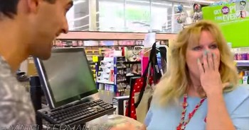 This Is 1 'THANK YOU' This Cashier Will Never Forget! What An Amazing Act Of Kindness!