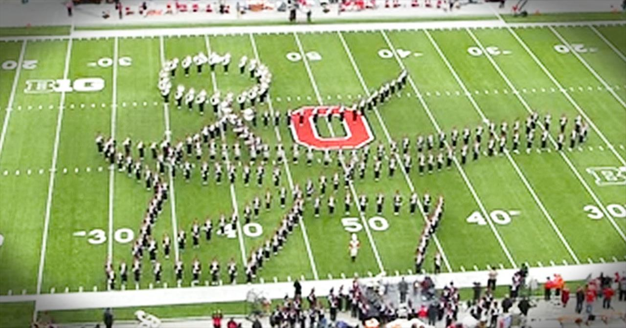 This Marching Band Just Performed 1 EPIC Routine. How Many Songs Can YOU Name?