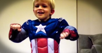 This Little Guy Is Fighting Cancer. And He Just Got The PERFECT Theme Song For Battle!
