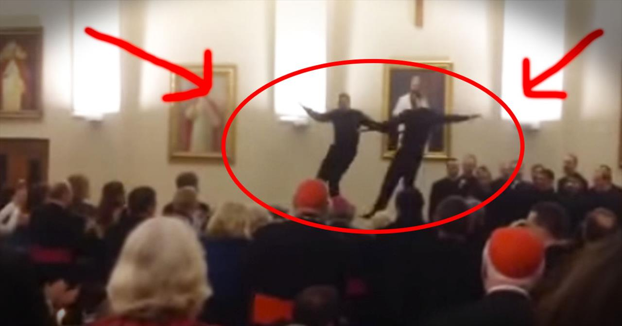 This Is 1 EPIC Dance-Off! Who Knew Priests Could Move Like That?