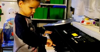 Despite Being Blind, This 3-Year-Old Is Being Called 'Baby Bach.' You've Gotta Hear Him Play!