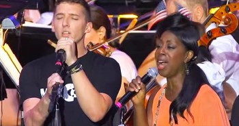 When These Wounded Warriors Sing 'Hallelujah' Your Heart Will Melt. God Bless These Men!