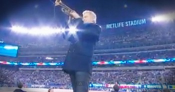 Now THIS Is 1 Beautiful Rendition Of Our Nation's Anthem. That Trumpet Just Got Me All Misty-Eyed!