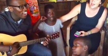 When These Children Sing 'This Little Light Of Mine' Your Heart Will Completely MELT!