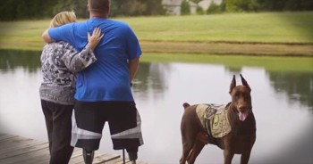 This Wounded Warrior Just Gave Him Mom A Well-Deserved Surprise. And Now I'm In TEARS!