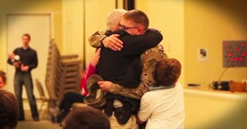 This Family Thought It Was Just Another Church Service. Until This Military SURPRISE Changed Everything!