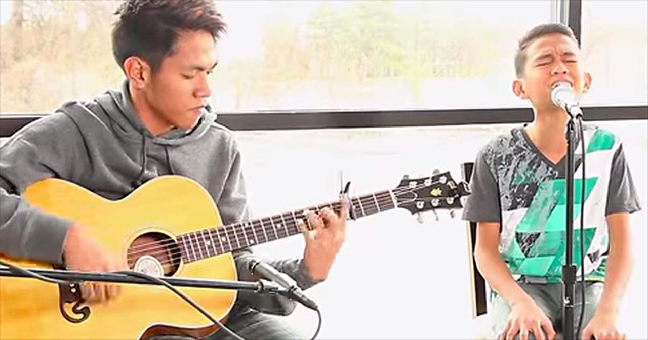 The Talented Duo Of Aldrich And James Amaze With Kari Jobe's 'Steady My Heart.' WHOA!