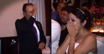Father Uses Sign Language To Surprise Daughter With Special Song At Her Wedding