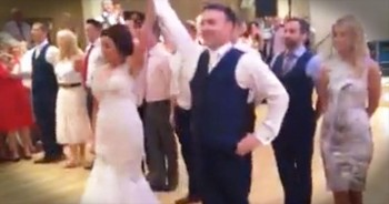 Bride And Groom Perform Incredible Irish Dance At Wedding Reception