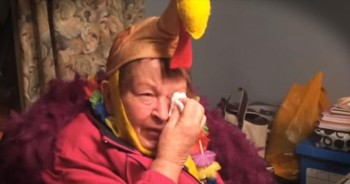 Grandma Has Tearful Reaction To Being In Macy's Thanksgiving Day Parade