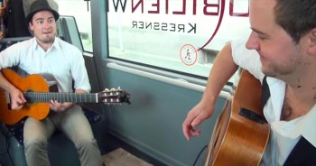 Ordinary Bus Ride Turns Into Surprise Concert