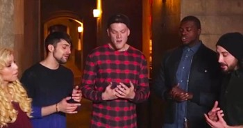 A Cappella Version Of 'Silent Night' Will Give You Goosebumps!