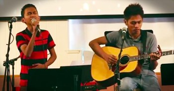 Aldrich And James Sing Incredible Cover Of Hillsong's 'Gift Of Love'