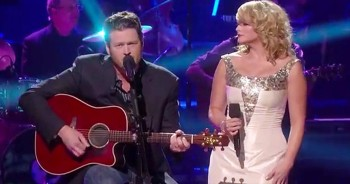 Blake Shelton And Miranda Lambert Sing Touching Version Of 'Home'